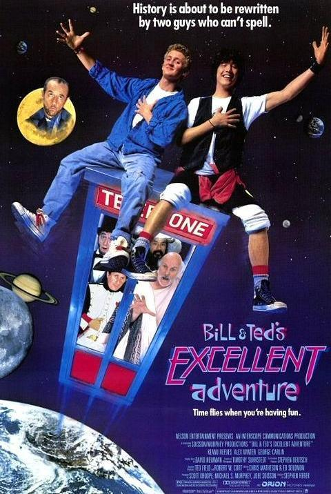 bill ted s excellent adventure 687619881 large - Mi cine Friki: Las alucinantes aventuras de Bill y Ted.