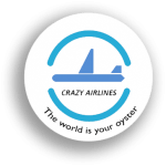 crazy airlines logo 300x300 150x150 - ESCAPE ROOM TRAVELERS - Crazy airlines