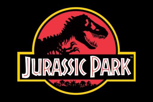 jurassic park logo - Jurassic Park (Steven Spielberg, 1993)