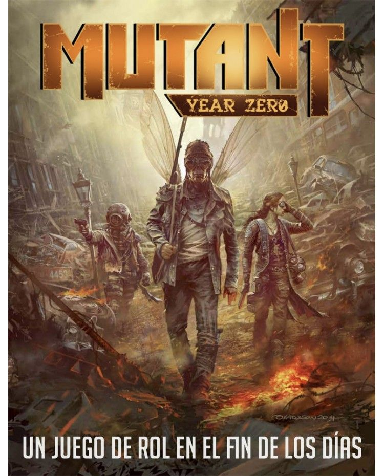 myz02 - Rol de cuarentena (Mutant Year Zero)