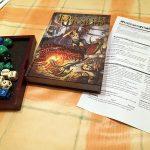 Dungeon world ya es para más mayores o con experiencia